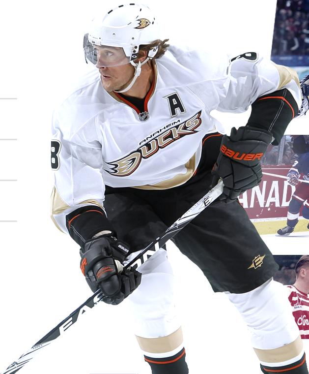 Teemu in Anaheim Ducks